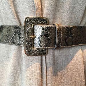 Accessories - Snakeskin print belt size 14